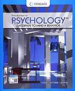 Introduction to Psychology: Gateways to Mind and Behavior (Mindtap Course List)