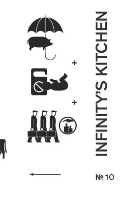 Infinity's Kitchen 10: A Journal of Experimental Literature - Kinnett, Dylan (Editor), and Williams, Jack
