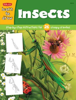 Insects: Step-By-Step Instructions for 26 Creepy Crawlies - Fisher, Diana