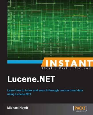 Instant Lucene.NET - Heydt, Michael