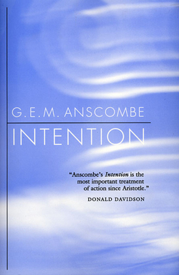 Intention - Anscombe, G E M