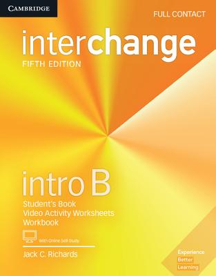 Interchange Intro B Full Contact with Online Self-Study - Richards, Jack C.