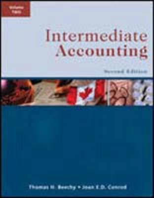 Intermediate Accounting - Beechy, Thomas H.