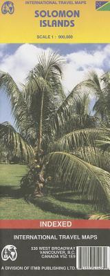 International Travel Maps, Solomon Islands, Scale 1:900,000: Indexed - Itmb Publishing Ltd