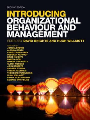 introducing organizational behaviour and management knights willmott pdf