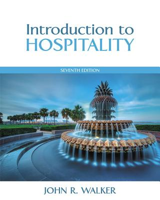 Introduction to Hospitality - Walker, John R.