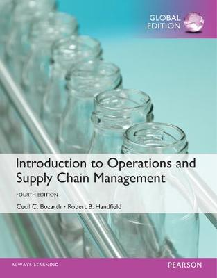 Introduction to Operations and Supply Chain Management - Bozarth, Cecil B., and Handfield, Robert B.