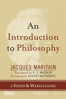 Introduction to Philosophy - Maritain, Jacques