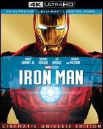 Iron Man [Includes Digital Copy] [4K Ultra HD Blu-ray/Blu-ray]