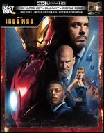 Iron Man [SteelBook] [Includes Digital Copy] [4K Ultra HD Blu-ray/Blu-ray] [Only @ Best Buy]