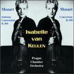 Isabelle Van Keulen Plays W. A. Mozart: Concertante K.364;Concertone, K.190