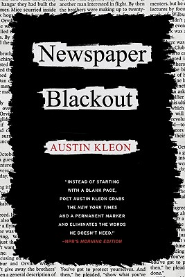 Newspaper Blackout - Kleon, Austin