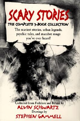 Scary Stories Box Set - Schwartz, Alvin, and Gammell, Stephen (Photographer)