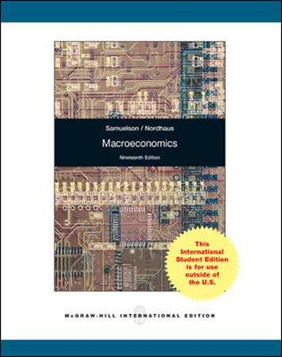 Macroeconomics - Samuelson, Paul A., and Nordhaus, William D.