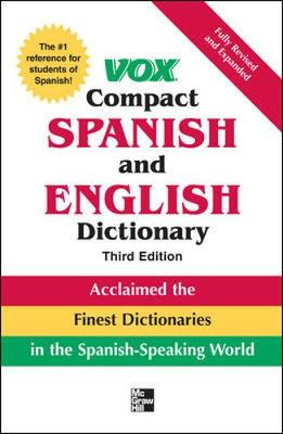 Vox Compact Spanish and English Dictionary - McGraw-Hill (Creator)