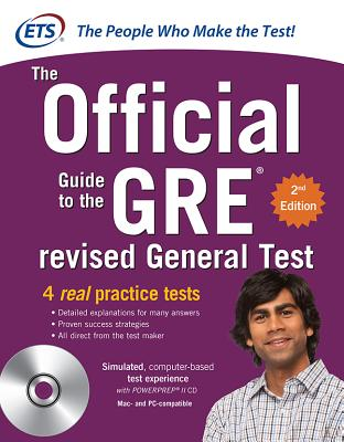 GRE the Official Guide to the Revised General Test , Second Edition - Educational Testing Service