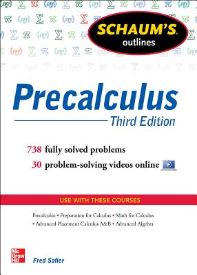 Schaum's Outline of Precalculus - Safier, Fred