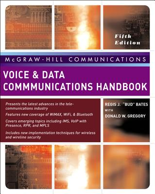 Voice & Data Communications Handbook - Bates, Regis, and Gregory, Donald