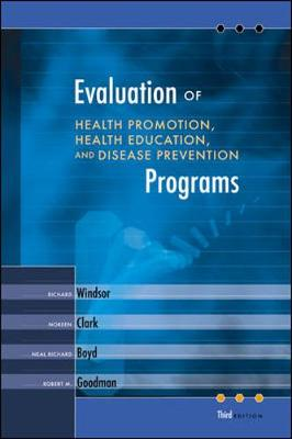 Evaluation of Health Promotion, Health Education, and Disease Prevention Programs - Windsor, Richard A
