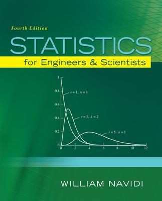 Statistics for Engineers and Scientists - Navidi, William C.