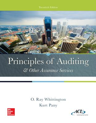 Principles of Auditing & Other Assurance Services - Whittington, Ray, and Pany, Kurt