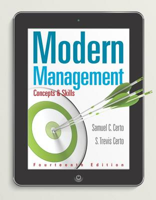 Modern Management: Concepts and Skills - Certo, Samuel C., and Certo, Trevis