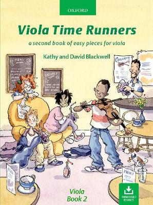 Viola Time Runners (Book + CD) - Blackwell, David (Composer), and Blackwell, Kathy (Composer)