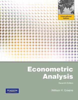 Econometric Analysis - Greene, William H.