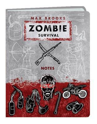 Zombie Survival Notes Mini Journal - Brooks, Max