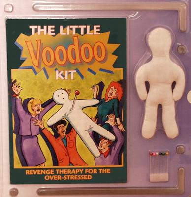 The Little Voodoo Kit: Revenge Therapy for the Over-Stressed - Poupette, Jean-Paul, Dr.