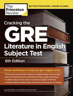 Cracking the GRE Literature in English Subject Test - McMullen, Douglas, Jr.