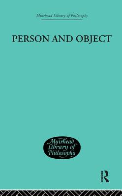 Person and Object: A Metaphysical Study - Chisholm, Roderick M