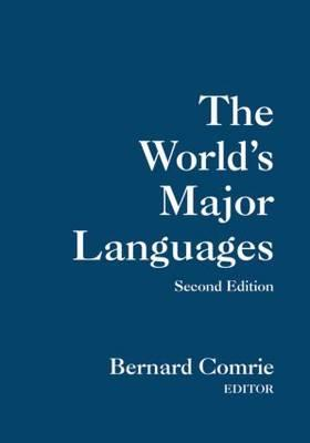 The World's Major Languages - Comrie, Bernard (Editor)