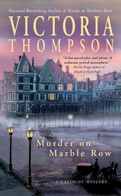 Murder on Marble Row - Thompson, Victoria