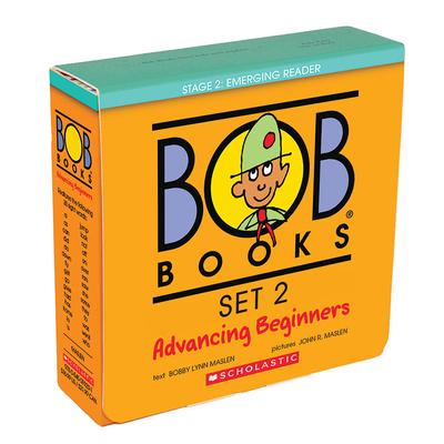 Bob Books Set 2: Advancing Beginners - Maslen, Bobby Lynn, and Maslen, John (Illustrator)