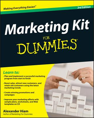 Marketing Kit for Dummies - Hiam, Alexander