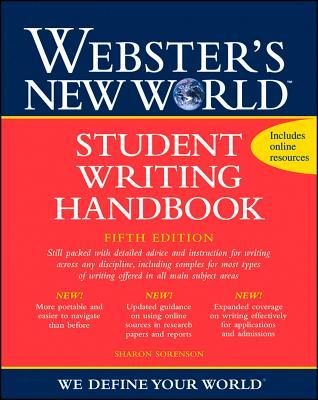Webster's New World Student Writing Handbook - Sorenson, Sharon