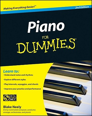 Piano for Dummies - Neely, Blake, and Pearl, David (Revised by)