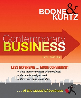 Contemporary Business - Boone, Louis E, and Kurtz, David L