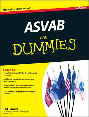 ASVAB for Dummies - Powers, Rod