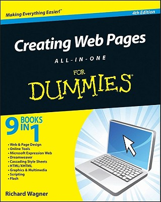 Creating Web Pages All-In-One for Dummies - Wagner, Richard