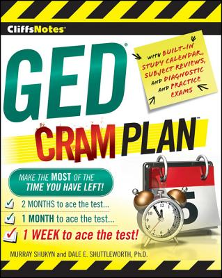 Cliffsnotes GED Cram Plan - Shukyn, Murray, and Shuttleworth, Dale E, PhD