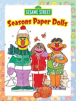 Sesame Street Seasons Paper Dolls -