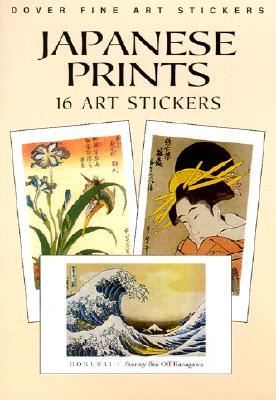 Japanese Prints: 16 Art Stickers - Hokusai