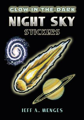Glow-In-The-Dark Night Sky Stickers - Menges, Jeff A