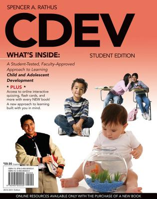 Cdev (with Review Cards and Coursemate Printed Access Card) - Rathus, Spencer A