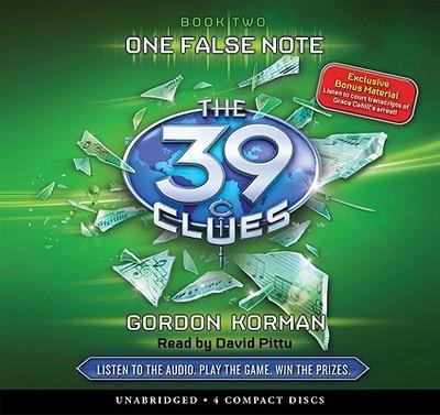 One False Note - Korman, Gordon, and Pittu, David (Read by)