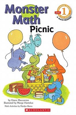 Scholastic Reader Level 1: Monster Math Picnic - Maccarone, Grace, and Burns, Marilyn