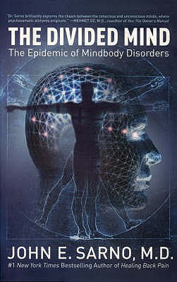The Divided Mind: The Epidemic of Mindbody Disorders - Sarno, John E.