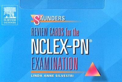 Saunders Review Cards for the NCLEX-PN Examination - Silvestri, Linda Anne